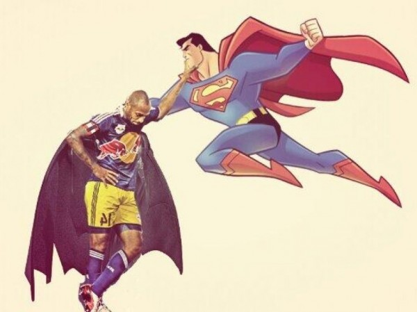 Thierry Henry, plus fort que Superman