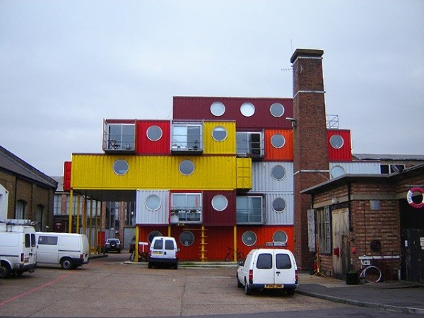 Ville Containers - Londres